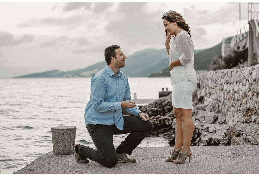 Merima i Fedja  (Neum BiH) engagement photograph Neum