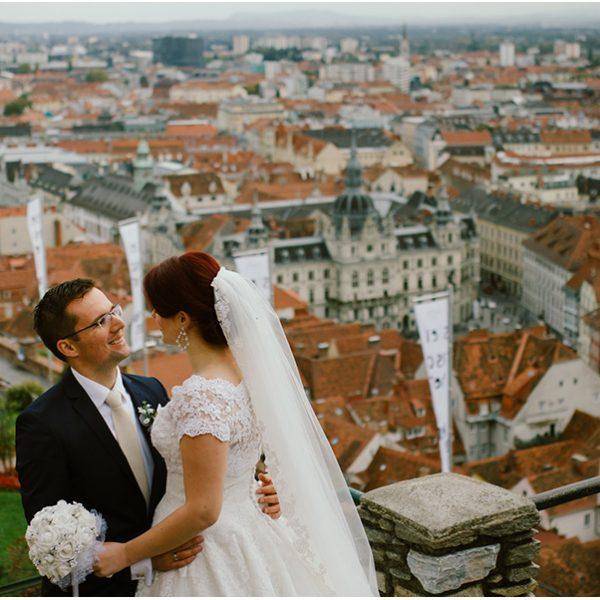 Aleksandra and Nemanja  (Graz Austria) Wedding photographer Graz Austria
